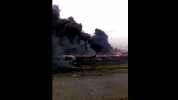 Ucrania: publican nuevas imágenes del accidente del vuelo MH17