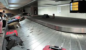 retiro de equipaje huincha aeropuerto