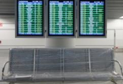 sala espera aeropuerto salida horario