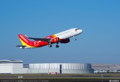 A320 VIETJET MSN6341 TAKE OFF - FIRST FLIGHT