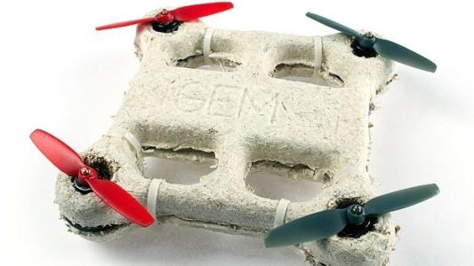 El hongo volador: un drone biodegradable de la NASA que vuela y luego… muere