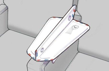 Soarigami, un dispositivo creado para compartir el apoyabrazos