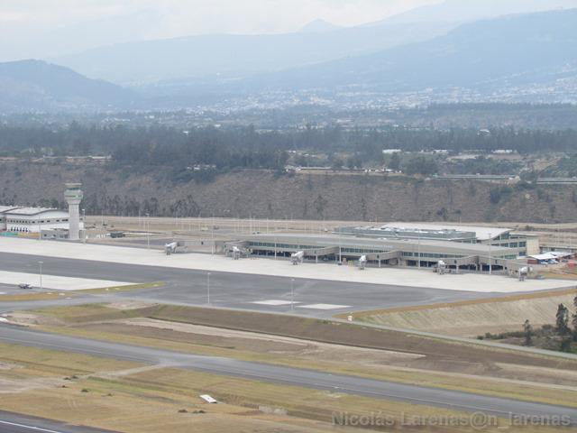 Aeropuerto vista aérea