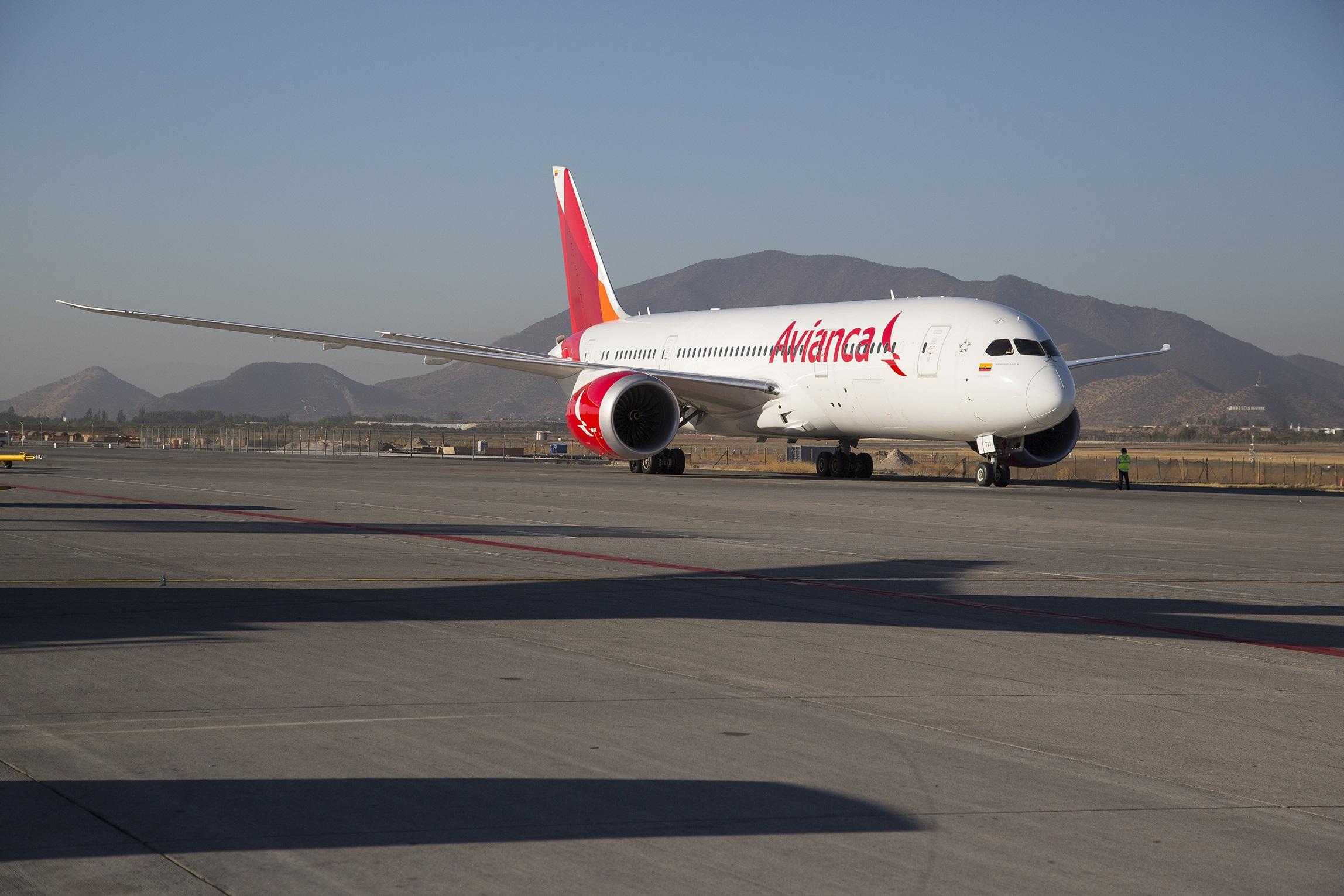 El nuevo B-787 de Avianca aterriza el 1 de julio en Madrid