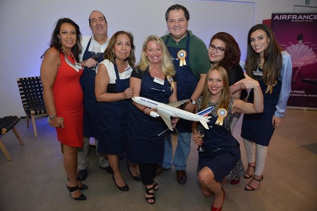 Air France KLM realizó un encuentro culinario en agradecimiento al apoyo recibido durante el 2014