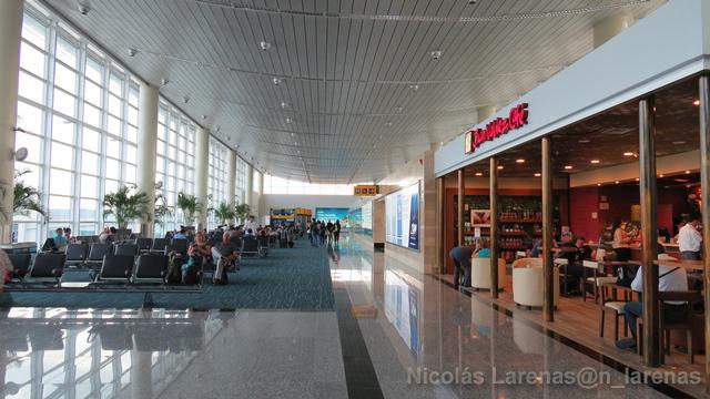 El aeropuerto con la comida más sana