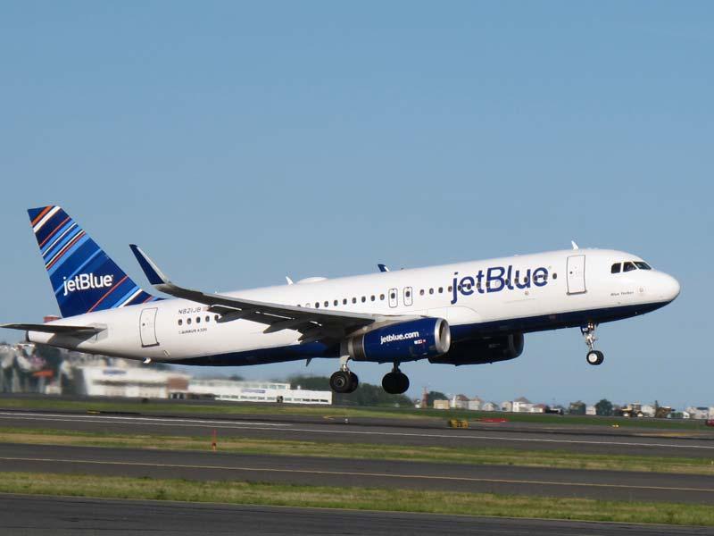 JetBlue Airways amplía operaciones con Airbus A321 desde Boston y Orlando a dos destinos de Rep. Dominicana