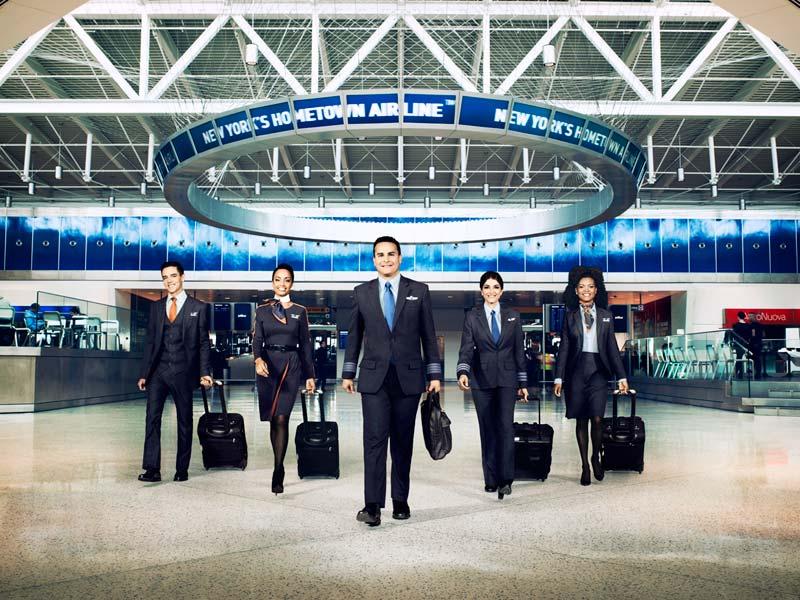 JetBlue mejor empresa para trabajar en la industria de Transporte y Logística