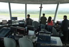 Torre control interior