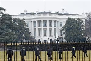 Misterio: encontraron un drone en los jardines de la Casa Blanca