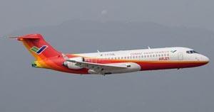 El ARJ21-700 chino obtiene su certificación oficial