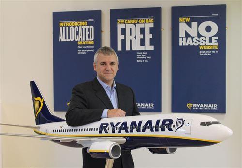 Ryanair nombra a José Espartero como Sales & Marketing Manager para España y Portugal
