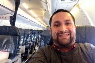 El pasajero solitario ocupa las redes sociales