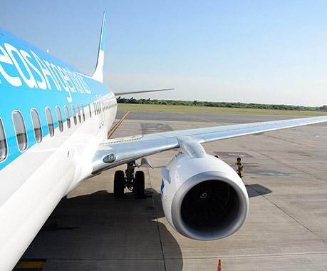 Aerolíneas Argentinas premió al pasajero 9 millones