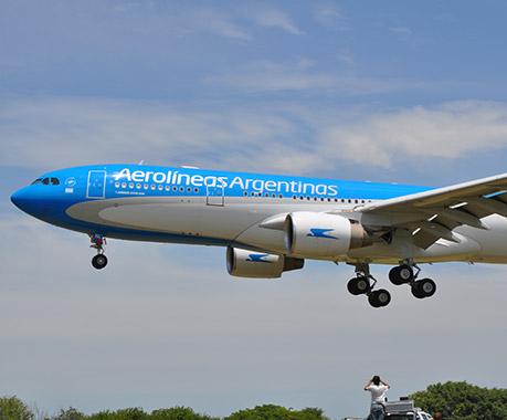 Aerolíneas Argentinas incrementa un 10% la cantidad de asientos ofrecidos al centro y el norte del país