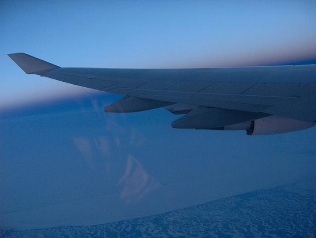 Ala vuelo avion
