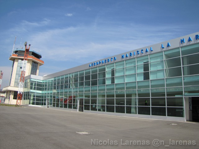 Ecuador:  Aeropuerto de Cuenca estará cerrado hasta la noche del jueves 5 de mayo