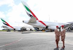 Emirates A380 trip