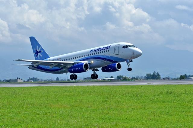 Incrementa Interjet 23% de tráfico a Centroamérica
