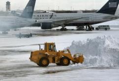 Nieve aeropuerto
