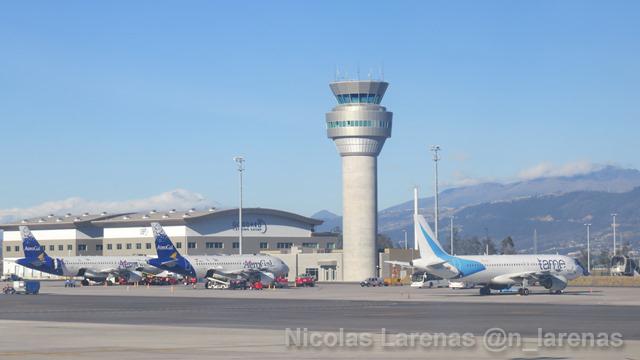 Aeropuerto de Quito suspenderá operaciones por visita papal