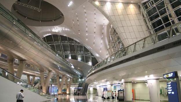 Aeropuertos con originales áreas de descanso