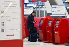 kiosco Iberia check in