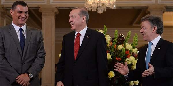 Colombia y Turquía estrechan lazos en cuatro frentes