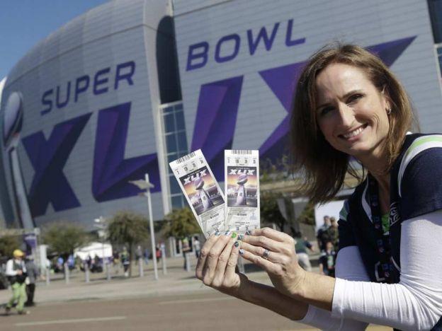Boletos del Super Bowl por las nubes