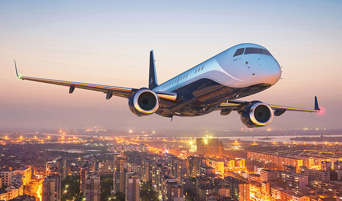 Brasileña Embraer anuncia acuerdo con proveedora mexicana de aviones