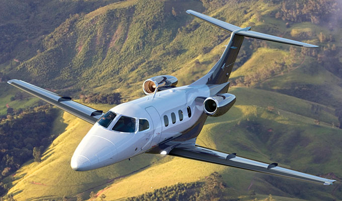 Embraer Phenom_100-Entry_Level_Private_Jet