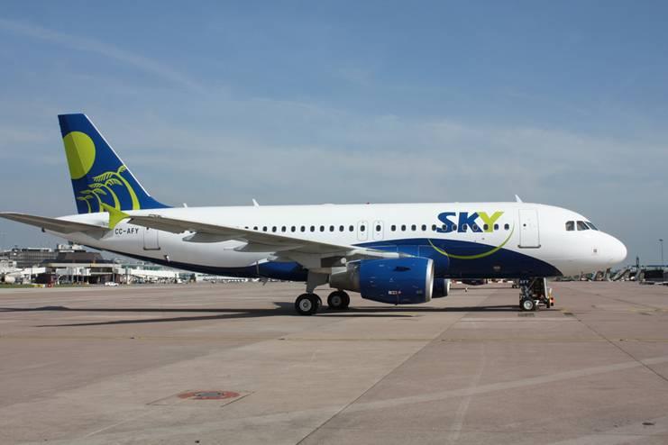 Sky Airline amplia frequência SP-Santiago em julho