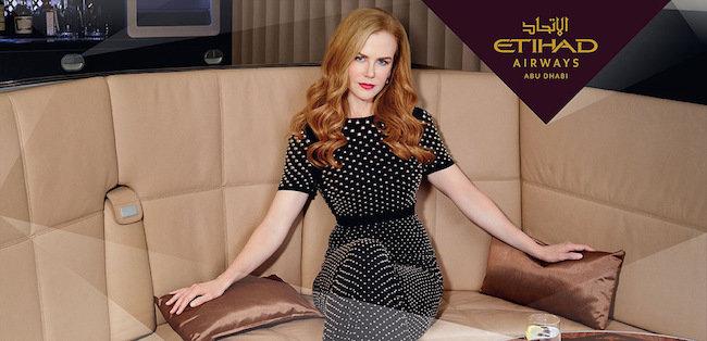 Etihad Airways combina innovación y glamour en la película de realidad virtual de Nicole Kidman