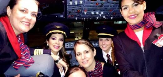 Las dueñas de la cabina en Argentina: ya hay 22 mujeres piloto de avión y buscan que otras se animen
