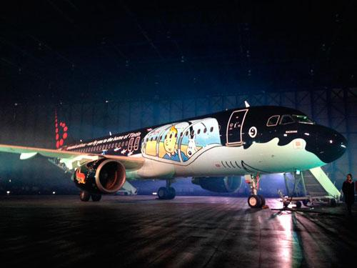 Venezuela: Aerolínea transforma uno de sus aviones en el submarino de Tintín