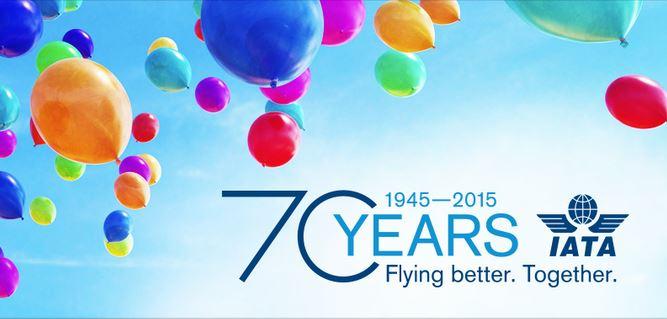 IATA celebra 70 años trabajando por el desarrollo de la Industria Aérea Internacional