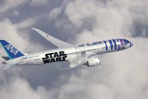 El tema de Star Wars interpretado por sonidos de aerolinea es la version más friki hasta ahora
