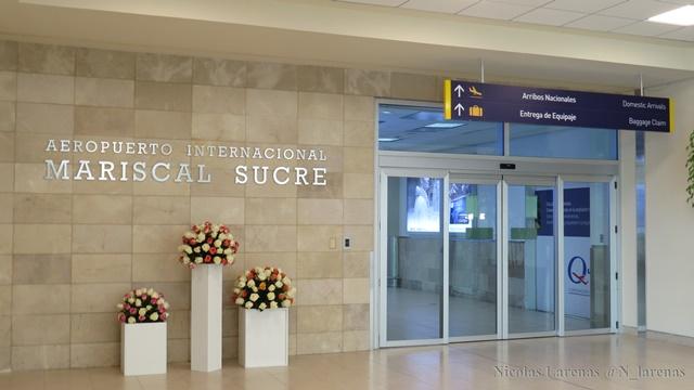Ecuador: Inauguran ampliación del Aeropuerto Mariscal Sucre