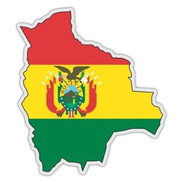 Bolivia Mapa 2