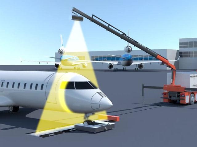 Primer escáner de aviones detecta armas, drogas y bombas en segundos