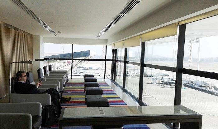 LATAM inauguró un moderno salón vip en el aeropuerto de Santiago