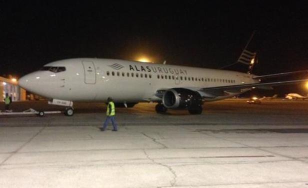 Alas Uruguay no pudo hacer su vuelo de demostración a Chile