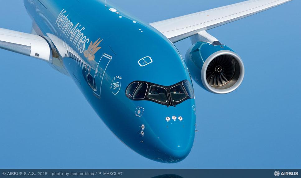 Vietnam Airlines se convierte en el segundo operador del A350 XWB