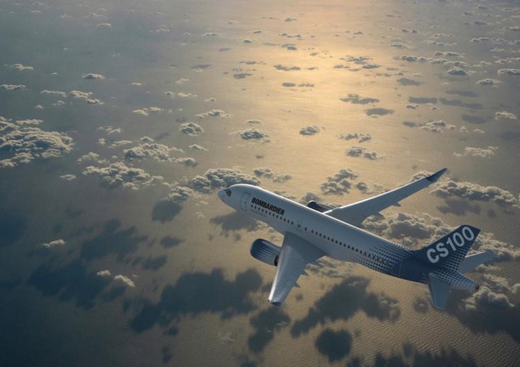 El CSeries300 de Bombardier hará su debut comercial en diciembre