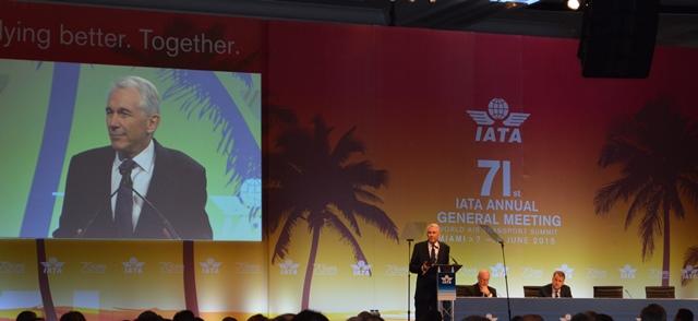 IATA inaugura su 71 versión de la Reunión General Anual, AGM 2015, en medio de buenas noticias para la aviación