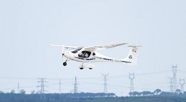China certificó el primer avión eléctrico de pasajeros