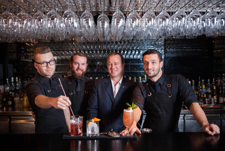 Sommeliers de Rockpool y gin Four Pillars crean edición limitada para Qantas