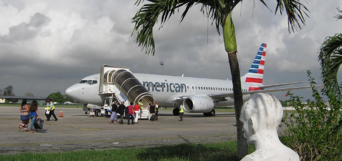 El aeropuerto de La Habana recibe un 27,4% más de viajeros