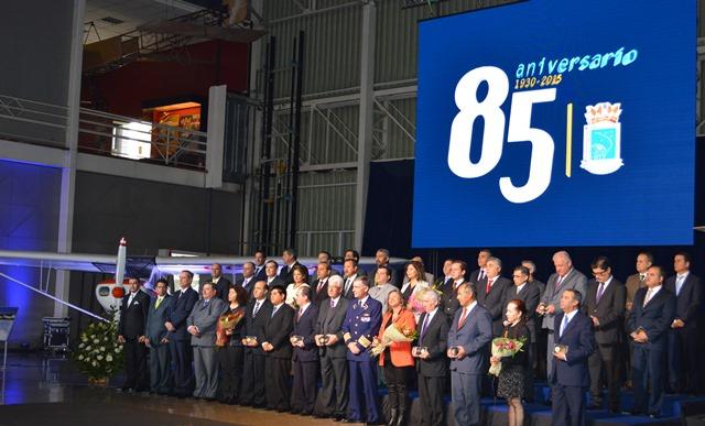 DGAC de Chile celebró sus 85 años de contribución al desarrollo de la aeronáutica (Galería)