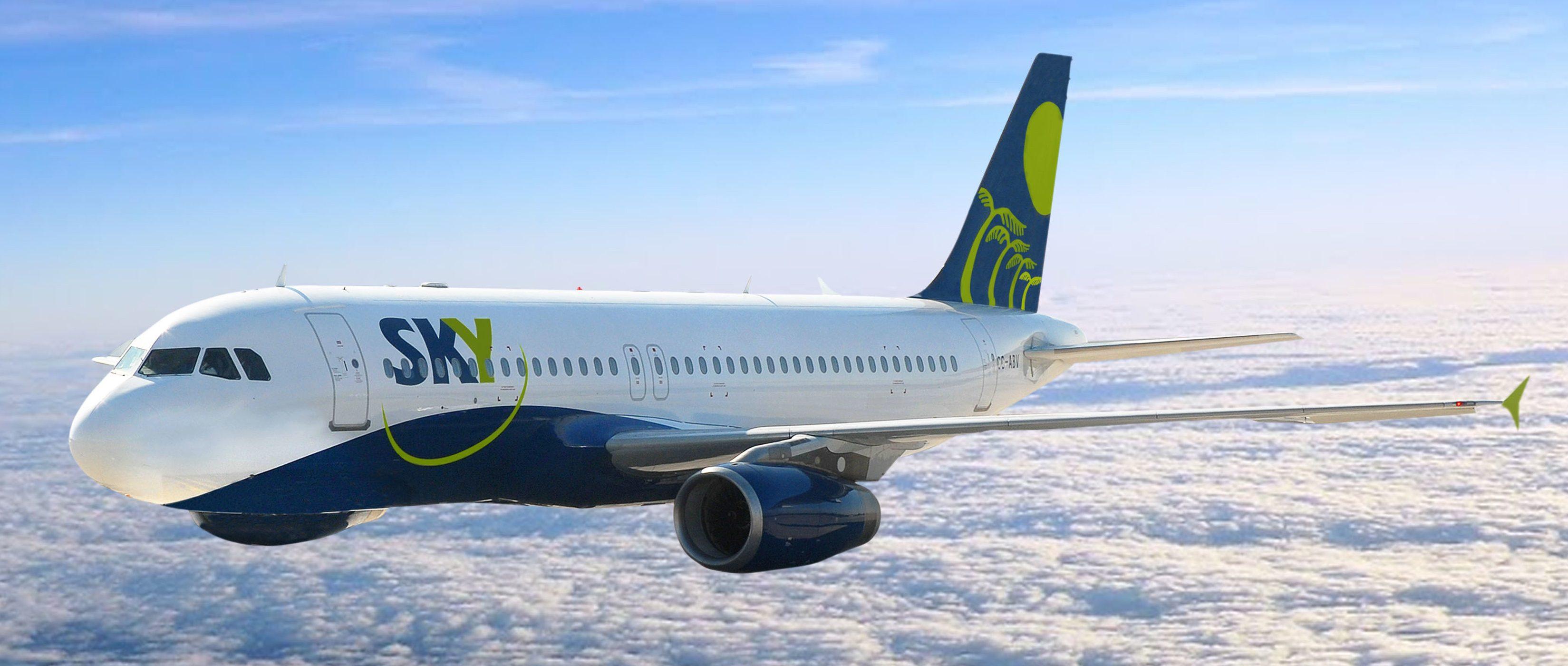 SKY Airline inaugura con éxito primer vuelo a Mendoza
